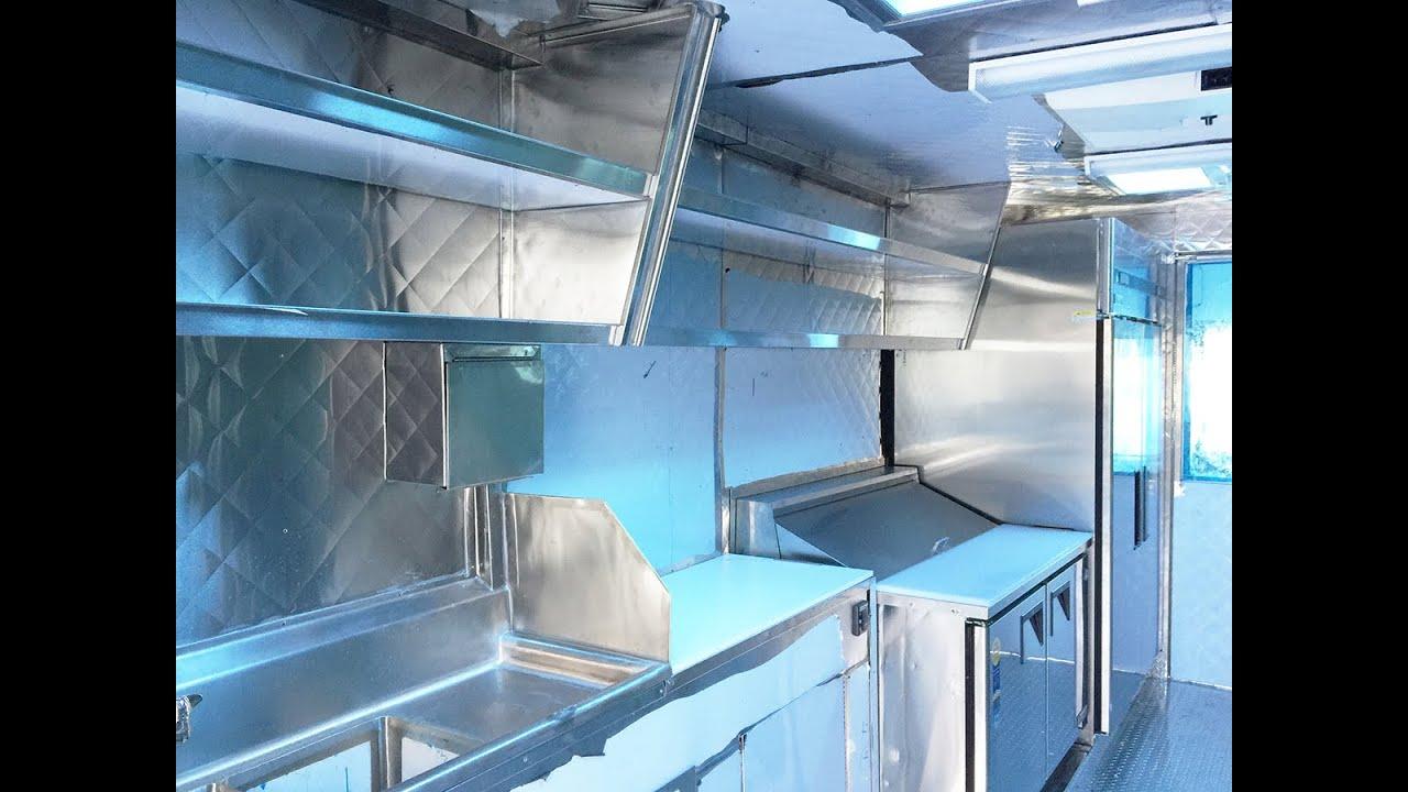 Working Inside A Food Truck