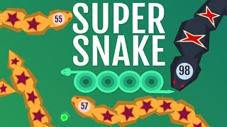 Supersnake.io New Update New Skins! Addicting Multiplayer Online Game! Similar to Agar.io