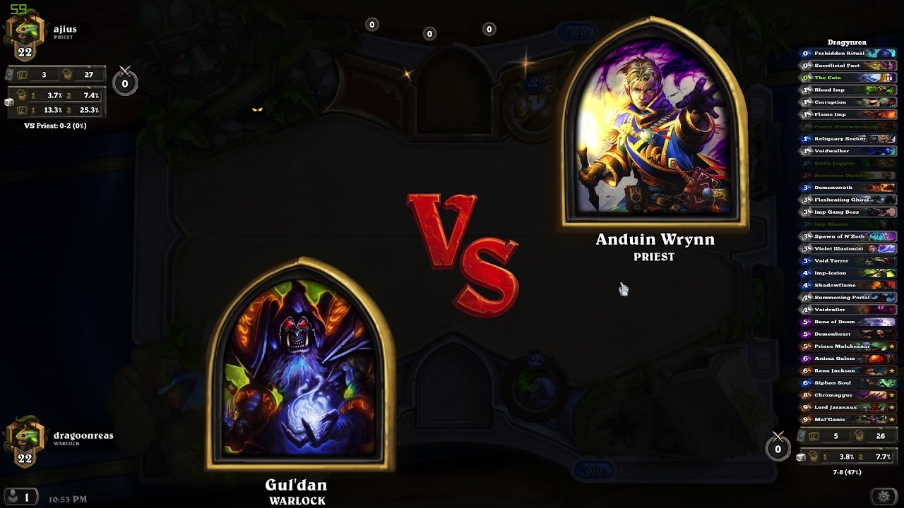Hearthstone matchmaking ranked