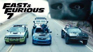 Plane Drop Scene 2/3 - FAST and FURIOUS 7 (Charger, Impreza, Wrangler, Challenger, Camaro) 1080p