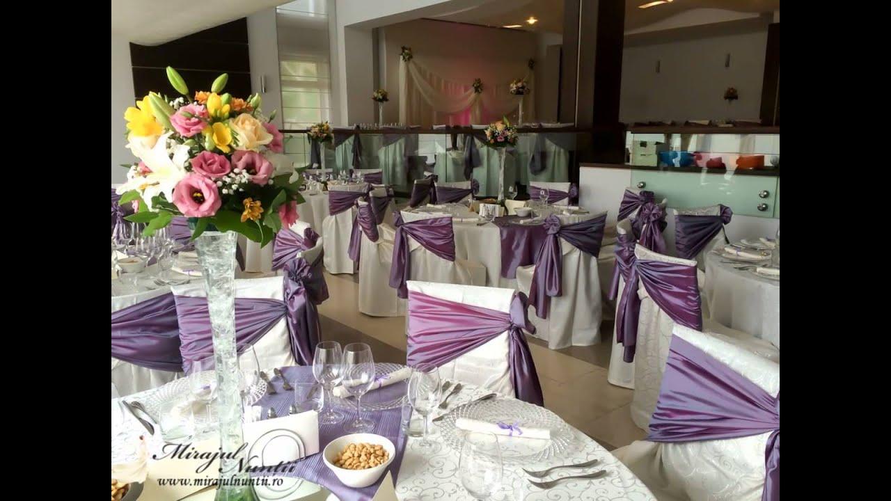 Decoratiuni Pentru Nunta La Restaurant Nova Din Targoviste Mirajul