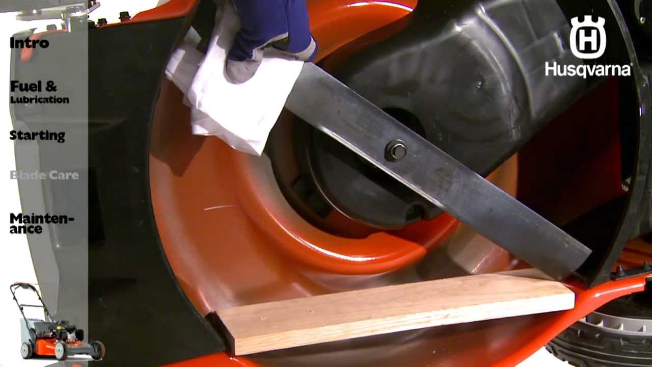 Husqvarna Lawn Mowers Blade Care Youtube 31ah64fg700 Parts List And Diagram 2012 Ereplacementpartscom