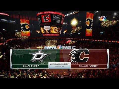 NHL 18 Franchise Mode: Calgary Flames @ Dallas Stars