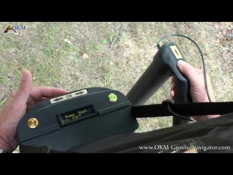 Okm 3D Ground Navigator Gold Detector - user video