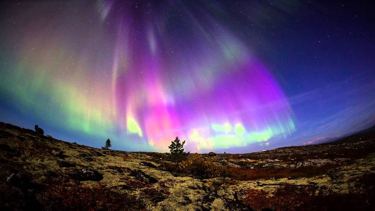 Полярное сияние 13.09.2014 (Aurora Borealis 2014) HD - YouTube