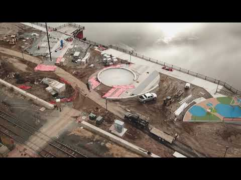 Blame it on the rain: Weather at fault for delay in Springfield Riverfront Park renovation project, officials say