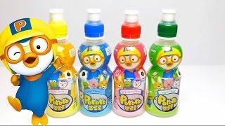 pororo fruit drinks for kids apple tropical milk strawberry from korea