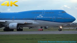 CLOSE UP! Heavy Arrival And Departure Compilations #1 (Toronto Pearson Airport) 10/12/2018 (4K)
