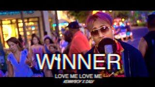 WINNER -  LOVE ME LOVE ME IN HAWAII (ENGLISH COVER) KENNYBOY x SALV