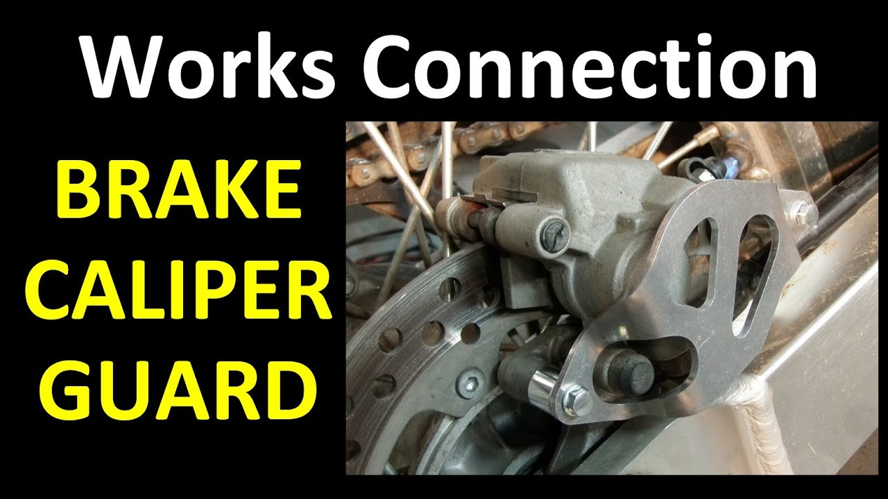 Works Connection Motorcycle Brake Caliper Guard (a FARKLE review)