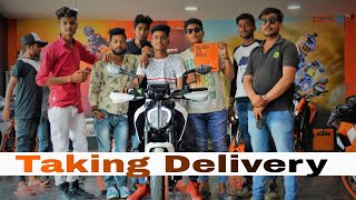 2018 KTM Duke 390 White | Taking Delivery | Lucknow chowk showroom