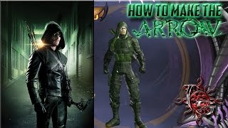DC Universe Online - How To Make The Arrow (Green Arrow From The Arrow Tv Show)