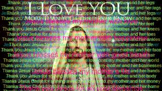 Jesus Blesses My Mother with Love & Good Health SUBLIMINAL