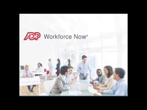 ADP WorkForce Now HopeWest Training Video
