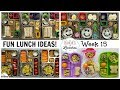 School Lunch Ideas || NEW LUNCHBOXES! + What They Ate || Bunches of Lunches
