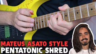 Baixar Mateus Asato PENTATONIC SHRED | Melodic Fast Licks & Tricks!