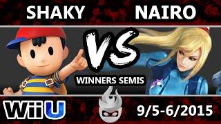Paragon LA - Shaky (Ness) Vs. Liquid | Nairo (ZSS) SSB4 Winners Semis - Smash Wii U