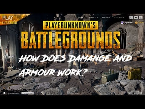 How Does Damage and Armour Work? - PlayerUnknown Battlegrounds