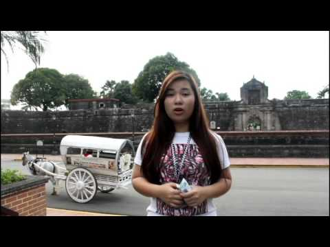 A History Project: Fort Santiago
