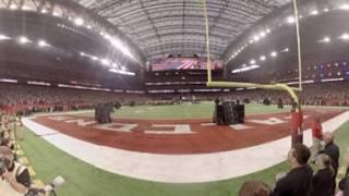 AJC 360 | Luke Bryan sings national anthem at Super Bowl LI