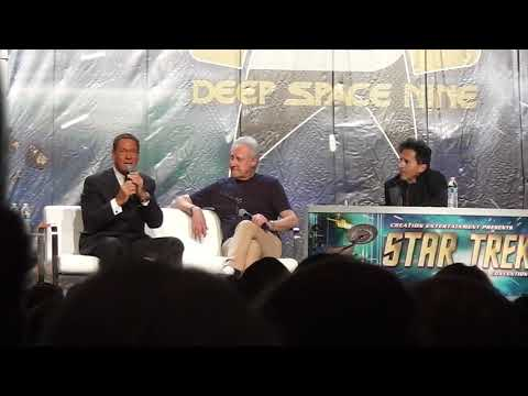 Brent Spiner and Joe Piscopo at the 2018 Star Trek Convention