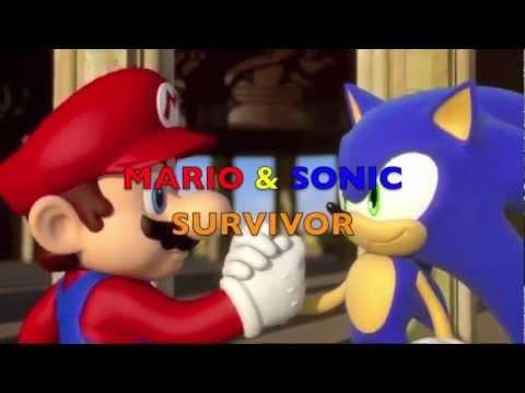 Survivor Mario and Sonic style