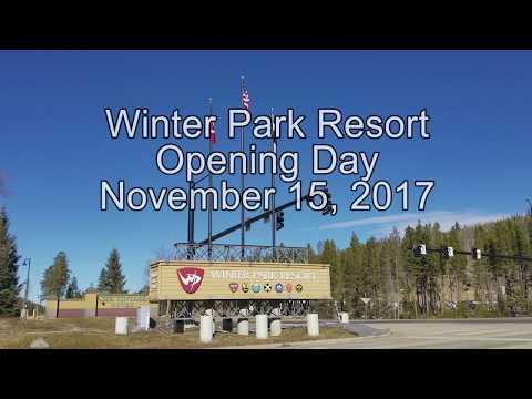 2017-2018 Opening Day! Winter Park Resort, Colorado 11/15/2017