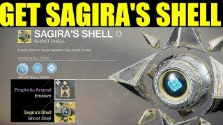 """Destiny 2 : How To Get """"Sagira's Ghost shell"""" ( Exotic Curse Of Osirs Ghost )"""
