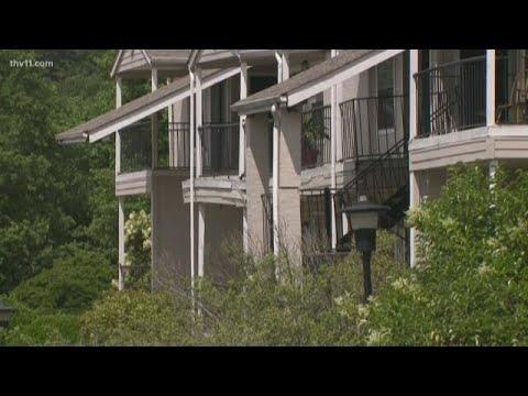 Sinkhole And Flooding Damages Riverwalk Apartments