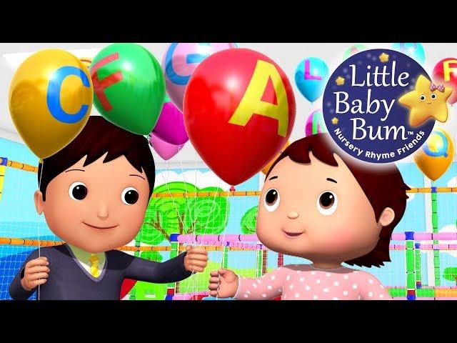 ABC Balloons Song   Part 2   Babies & Parents   Zee Version   Nursery Rhymes   By LittleBabyBum!