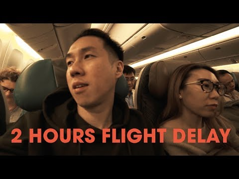 Oh no.. Stuck in a 2 hours SQ Flight Delay to Shanghai