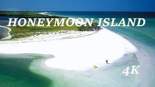 Honeymoon Island Florida by Drone