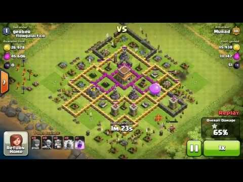 Clash of Clans: level 5 Archers Attack