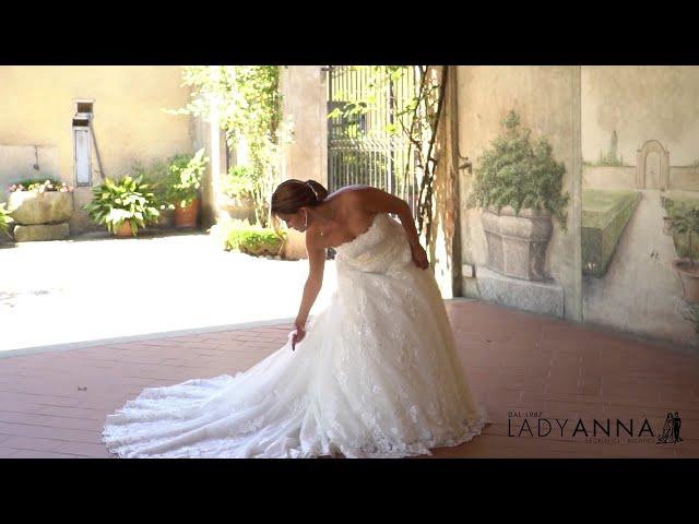 Come ballare e girare con l'abito da sposa