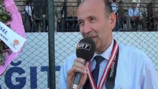 Sivas Vadi Federasyonu 4. Futbol Turnuvası Final ve Kupa Töreni Yorumlarından Ergül ŞİMŞEK