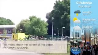 Ambulances Destroyed In Hospital Fire - Spirit FM Video News