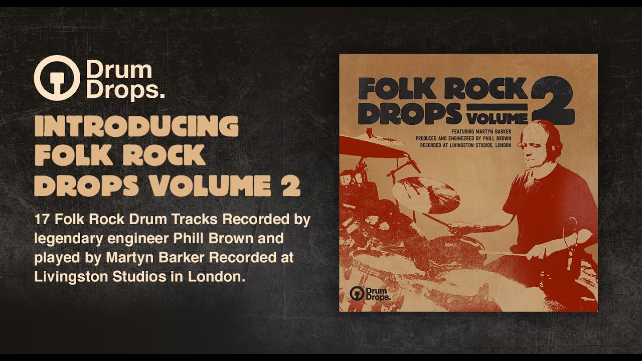KVR: Folk Rock Drops Volume 2 by Drumdrops - Multi-track