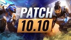Best Champions TIER List – League of Legends Patch 10.10