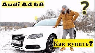 Audi A4 b8 / Как купить?