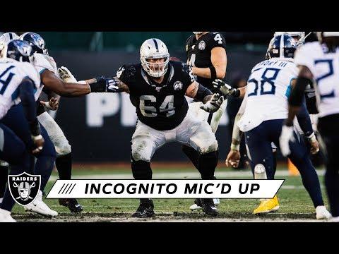 Richie Incognito Mic'd Up vs. Titans | Raiders