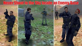 IGI 1 | What If You Shoot to the Sky Inside an Enemy Base?