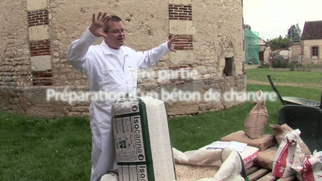 Fabrication d 39 un b ton de chanvre funnycat tv - La fabrication du beton ...