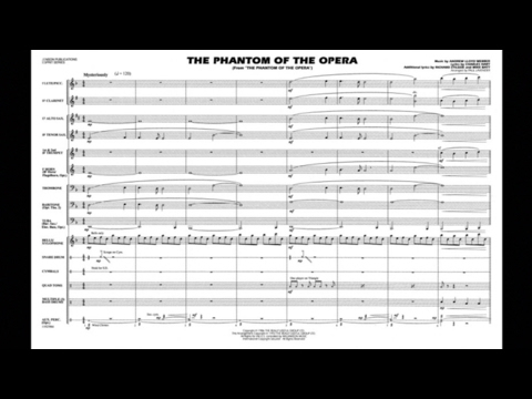 The Phantom of the Opera by Andrew Lloyd Webber/arr. Paul Lavender