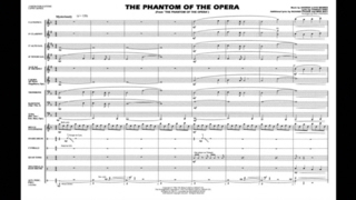 The Phantom Of The Opera By Andrew Lloyd Webber Arr Paul Lavender