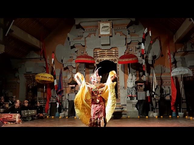 Tari Cendrawasih iringan Gong Genta Bhuana Sari Peliatan (GBS) 10 Jan 2021 Balerung Stage Peliatan