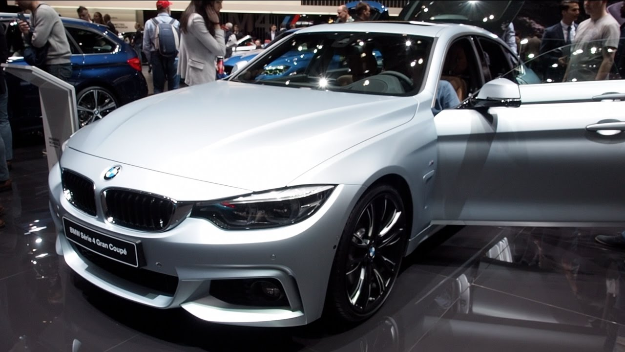 The All New 2017 BMW 4 Series Gran Coup In detail review