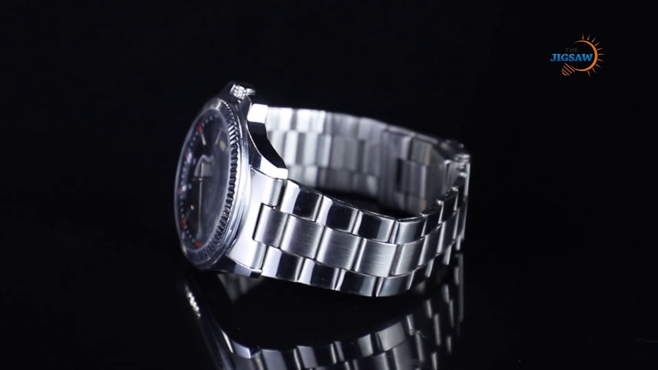 360 Product Photography | Silver Watch