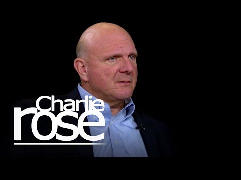Steve Ballmer on His Biggest Regret (Oct. 21, 2014) | Charlie Rose