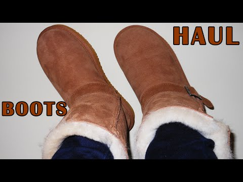 Winter Shoe Haul: 2 Pairs Of New Boots
