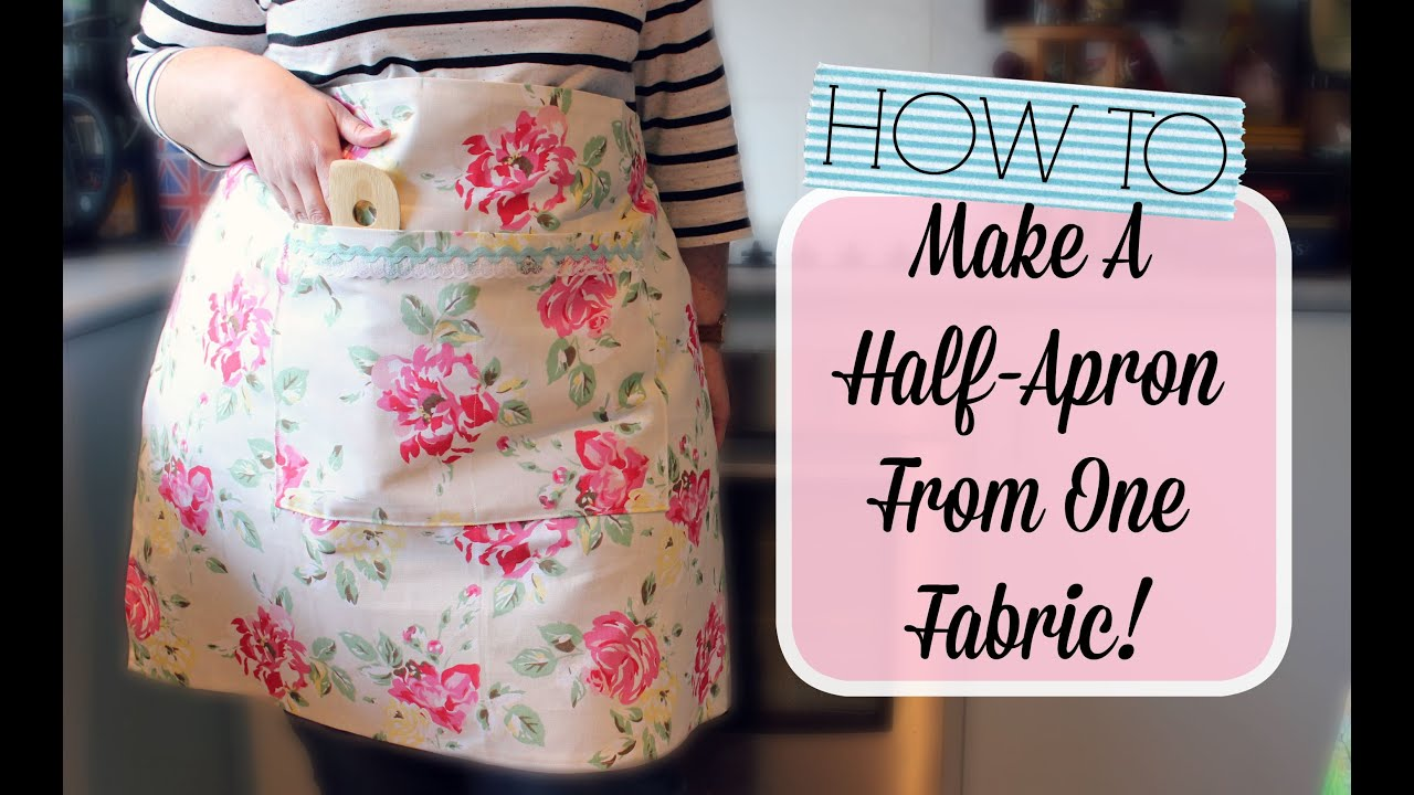 Easy Apron Pattern Magnificent Inspiration